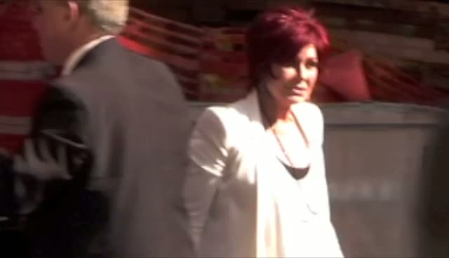 Sharon Osbourne Calls Shouting Photographer 'Stroppy'