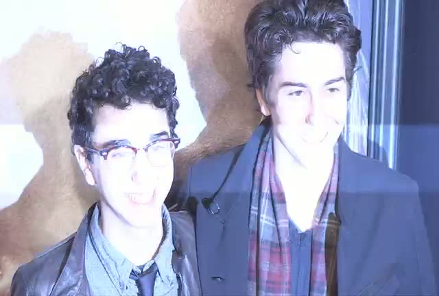 Alex And Nat Wolff, Marc Cohn And Cheyenne Jackson At Les Miserables NY Premiere