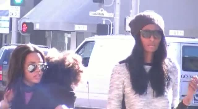 Angela Simmons And Her Friend Give Fashion Advice As They Take Her Niece Shopping