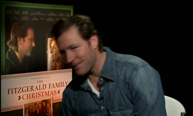 Edward Burns Talks About Family Nostalgia In Interview On 'The Fitzgerald Family Christmas'
