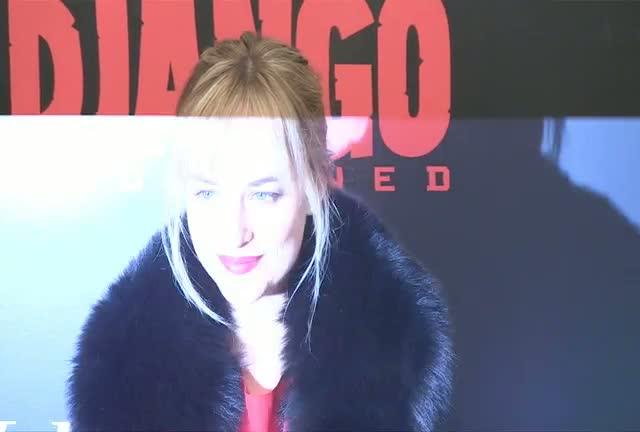 Olivia Wilde, Sharon Osbourne And Ronnie Wood At 'Django Unchained' Premiere