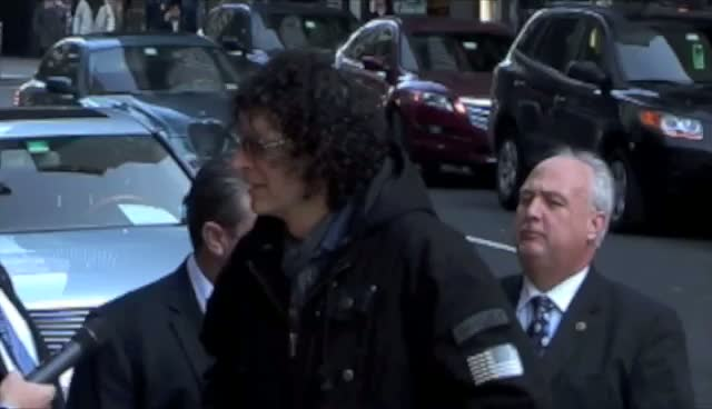 Howard Stern: 'I'm A Letterman Guy'