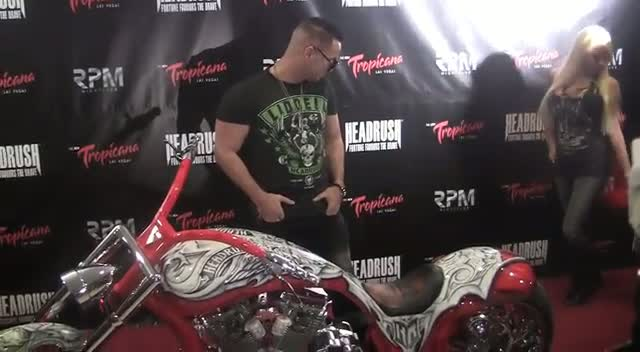 The Situation Poses With Motorbike And Girls