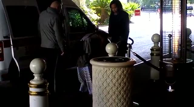 Christina Milian Leaves Las Vegas Hotel