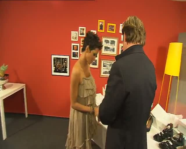 Halle Berry - Making of commercial...