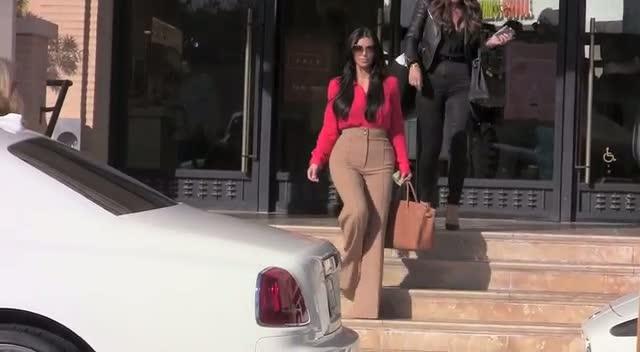Kim Kardashian Shops With Robin Antin