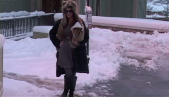 Phoebe Price Braves Utah Snow To Attend Sundance