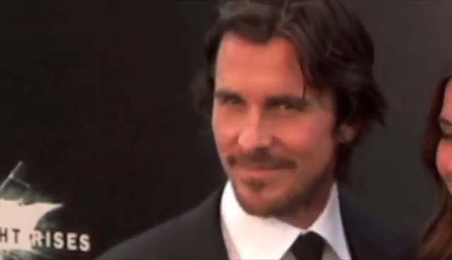 Christian Bale And Morgan Freeman Arrive At Dark Knight Rises Batman Premiere - Part 2