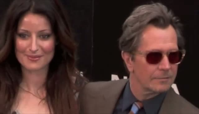 World Premiere Of The Dark Knight Rises: Bane And Commissioner Gordon Actors Arrive