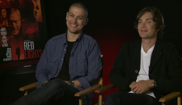 Cillian Murphy And Rodrigo Cortes Experience Potential Paranormal Activity Whilst Filming 'Red Lights'