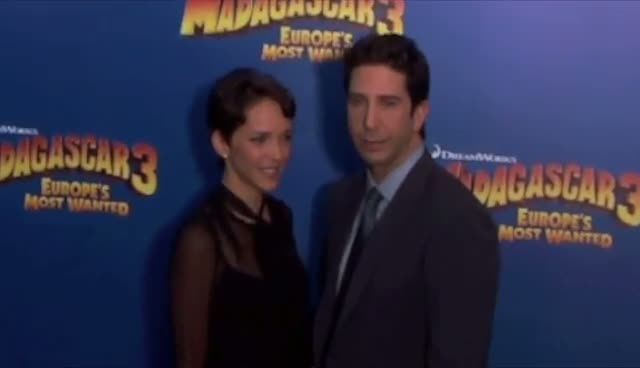'Madagascar 3' Stars Chris Rock And David Schwimmer  Arrive At The New York Premiere - Part 3