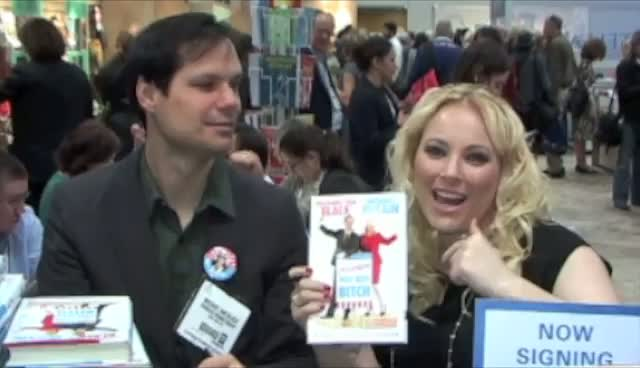 Meghan McCain And Michael Ian Black Sign New Book 'America, You Sexy B*tch' At BEA