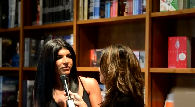 Teresa Giudice: We Need To Find The Cure For Kidney Disease - Part 1