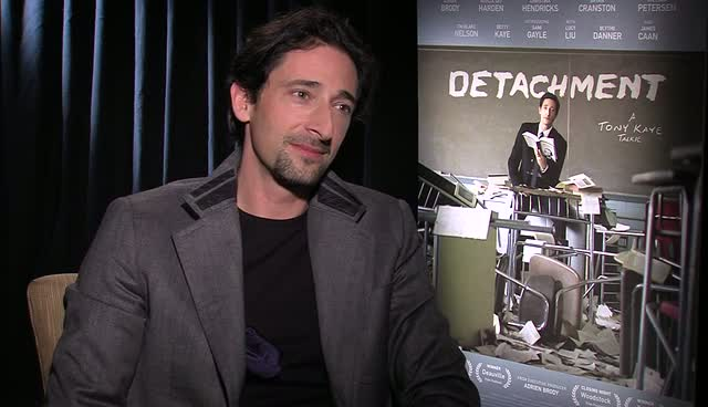 Adrien Brody Pays Homage To His Father In New Film Detachment