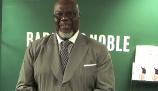Bishop T.D. Jakes Promotes Let It Go In New York