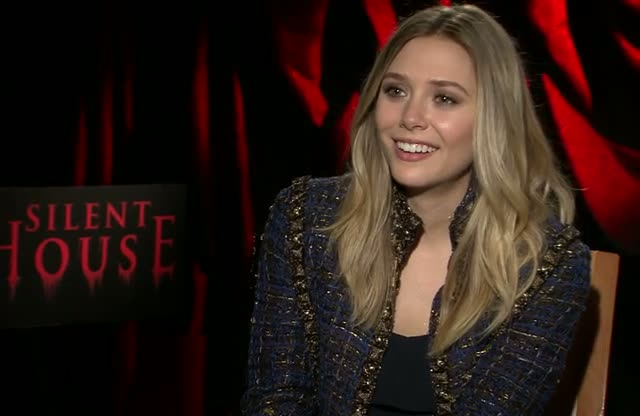 Elizabeth Olsen Found Silent House Scary