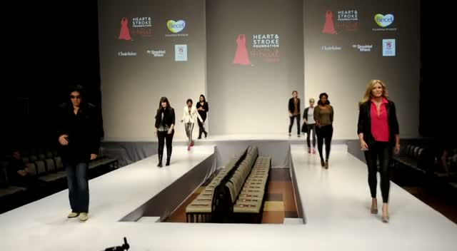 Gene Simmons Makes Surprise Appearance At Charity Fashion Show - The 5th Annual Heart Truth Fashion Show Part 2