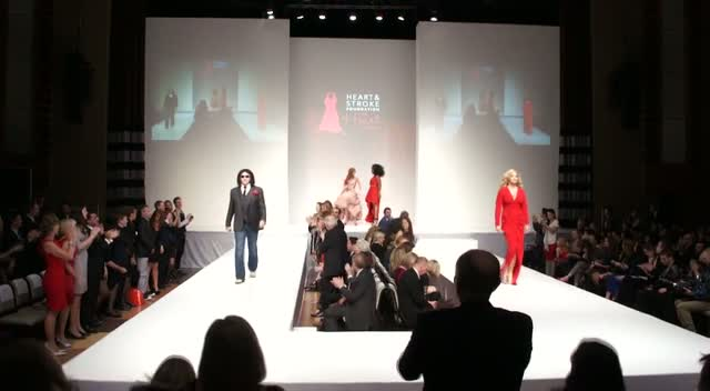 Gene Simmons The Star Of The Show At Charity Fashion Show - The 5th Annual Heart Truth Fashion Show Part 6