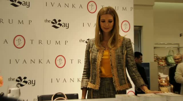 Ivanka Worked For Eighteen Months On New Clothing Line - Ivanka Trump Launches New Collection Part 2