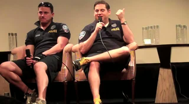 Jonah Hill: 'The Naked Baby Pictures In Jump Street Are Mine' - 21 Jump Street Press Conference Part 1