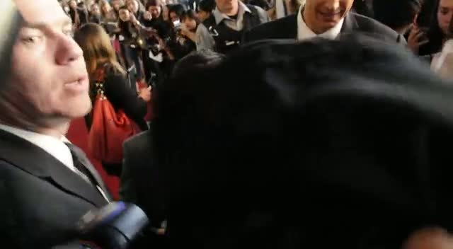 Josh Hutcherson Signs Autographs At Loud Hunger Games Premiere