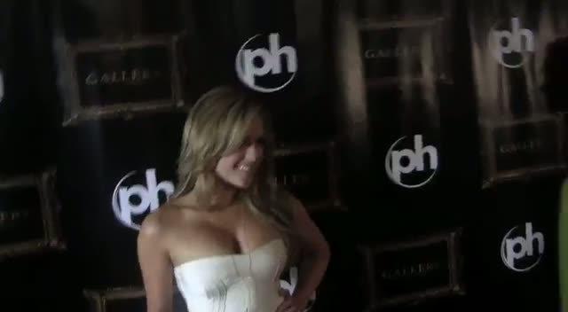Brittney Palmer 'Grateful' For Modelling Opportunity - Brittney Palmer Celebrates Playboy Cover In Vegas, Part 1