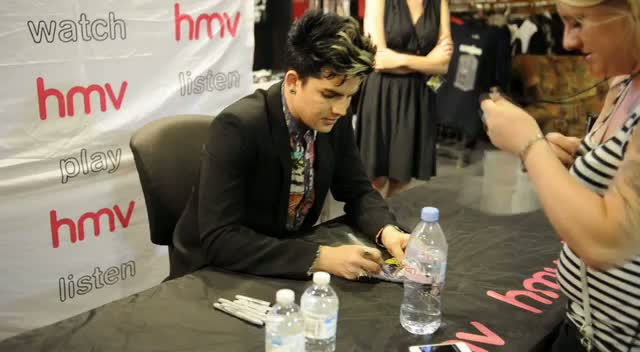 Adam Lambert Promotes Number One Album...