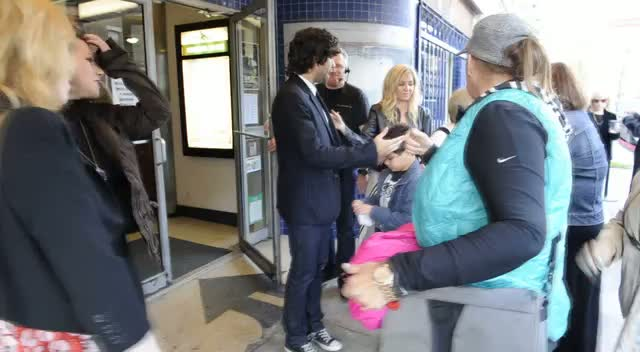 Adrian Grenier Greets Fans At 'My Name Is Faith' Premiere