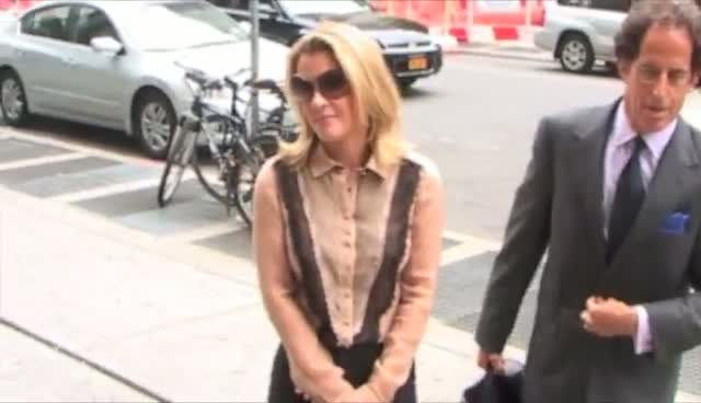 Alec Baldwin's Accused Stalker Genevieve Sabourin Smiles As She Arrives At Her Court Hearing