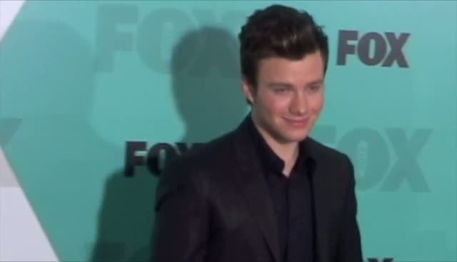 Glee Stars Lea Michele, Chris Colfer And Cory Monteith Arrive At 2012 Fox Upfront Part 3