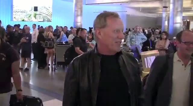 James Woods Jokes That He 'Rode On The Wing'