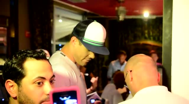 Kris Humphries Attends 'The Catalina' Premiere