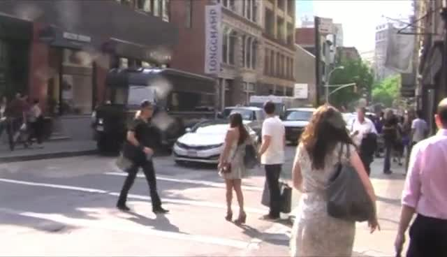 Lea Michele And Cory Monteith Walk Hand In Hand In Soho