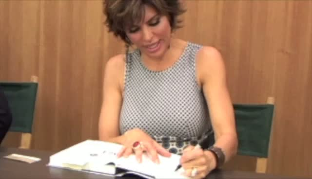Lisa Rinna Signs Her Book 'The Big Fun Sexy Sex Book'