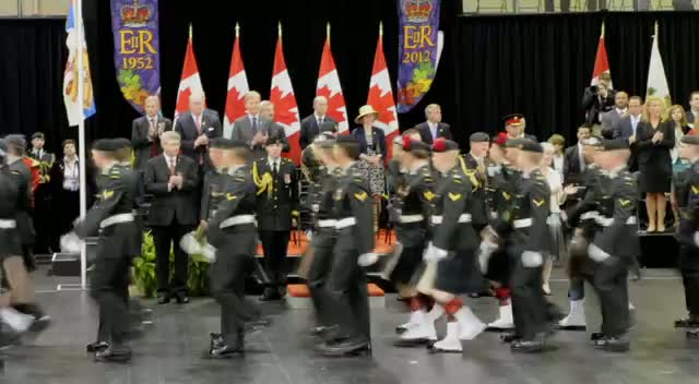 Prince Charles Attends Commemorative Military Muster Ceremony In Toronto