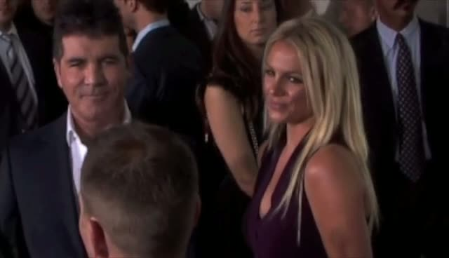 USA X Factor Judges Including Britney Spears and Demi Lovato Arrive at Fox Upfront  Part 1