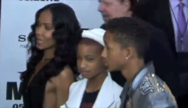 Will Smith Arrives With Family At...