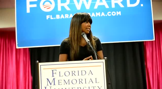 Gabrielle Union On Why Obama Should Remain President Over Romney