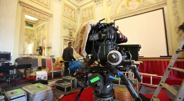 Italian Palace Given Grace Kelly Overhaul For Upcoming Movie 'Grace Of Monaco'