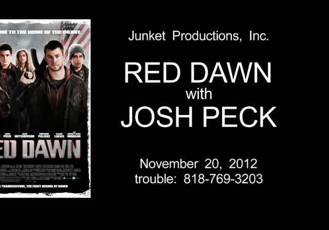 Josh Peck Talks Intense Training And Gun Injuries In Interview Promoting 'Red Dawn'