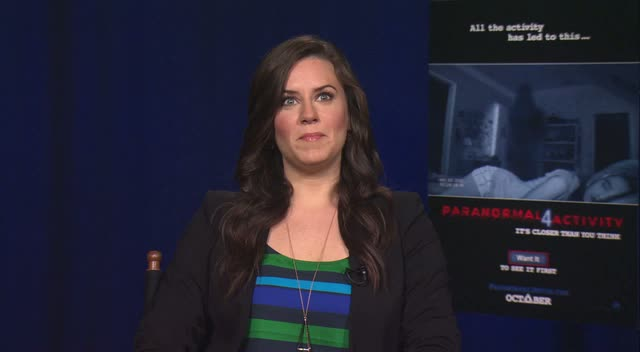 Katie Featherston: My Dog Barks At Nothing... It Freaks Me Out!