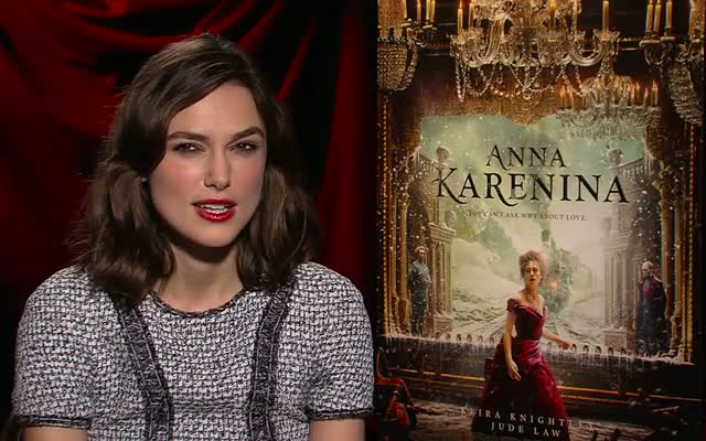 Keira Knightley Admits She Was Surprised By Moral Ambiguity Of Anna Karenina