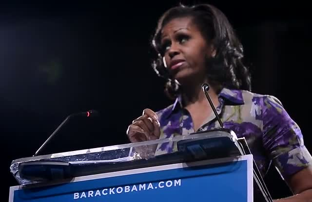 Michelle Obama Praises President Husband In...