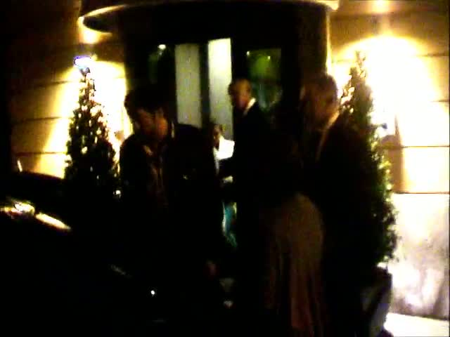 Penelope Cruz's Husband Javier Bardem Holds Car Door Open For Her As She Leaves Hotel