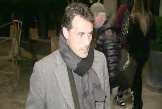 Rufus Sewell And Carla Gugino Arrive At The 'Hotel Noir' NY Premiere