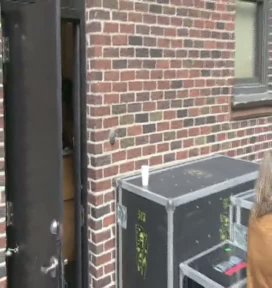 Soundgarden Arrive To Perform New Single On Letterman