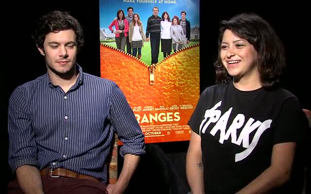 Adam Brody Admits He Has A 'Dirty Mouth' During A Press Junket With His 'Oranges' Co-star Alia Shawkat