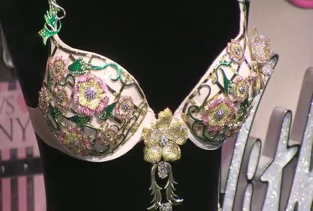 Alessandra Ambrosio Shows Off $2.5 Million Victoria's Secret Bra At NY Event