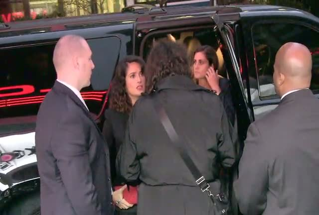 Kevin James And Salma Hayek Arrive At 'Here Comes The Boom' NY Premiere - Part 2