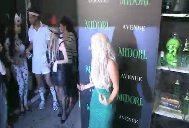 Kim Kardashian Shows Off Curvaceous Mermaid Ensemble At The Midori Halloween Party